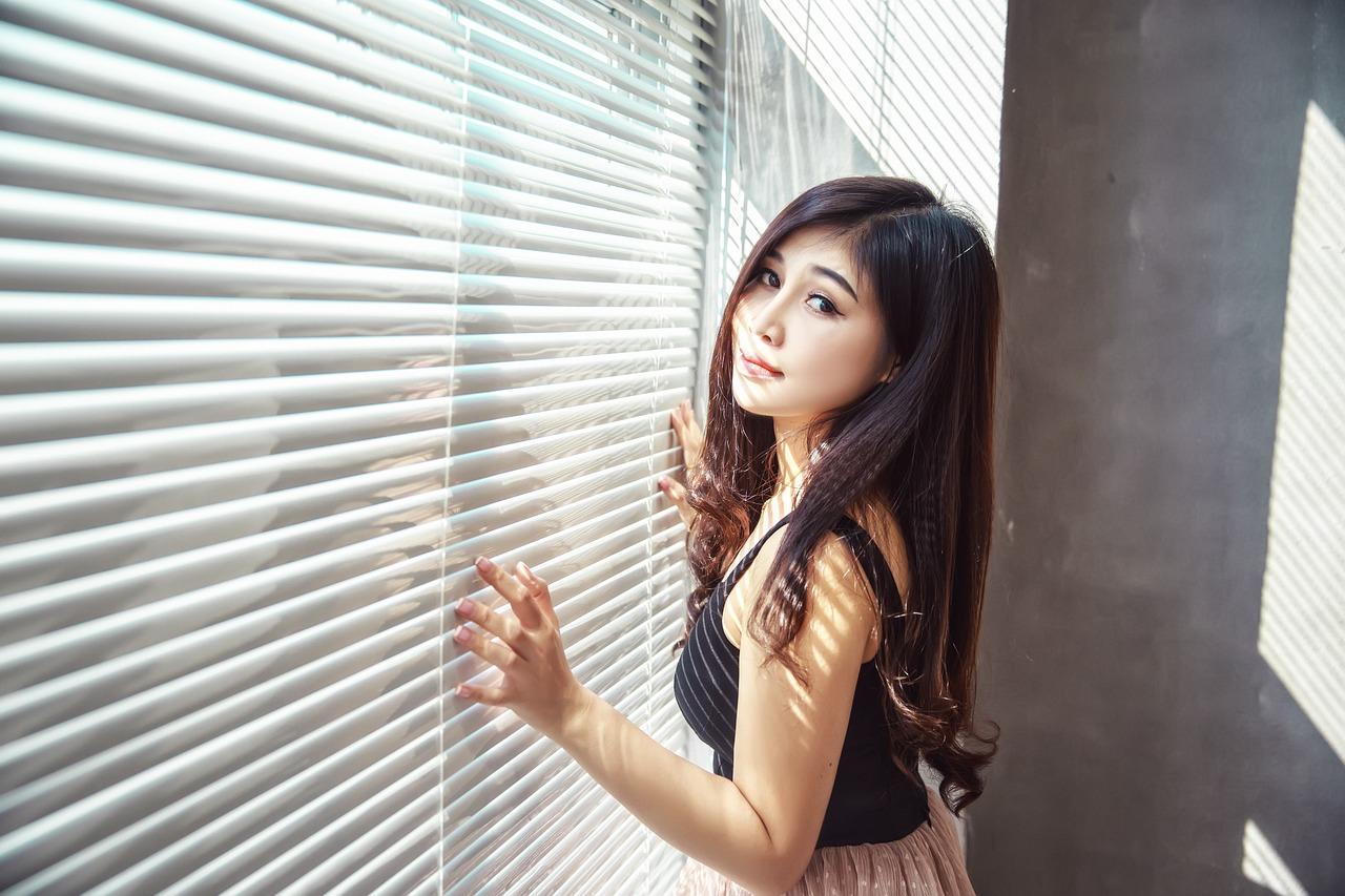 tender Korean girl