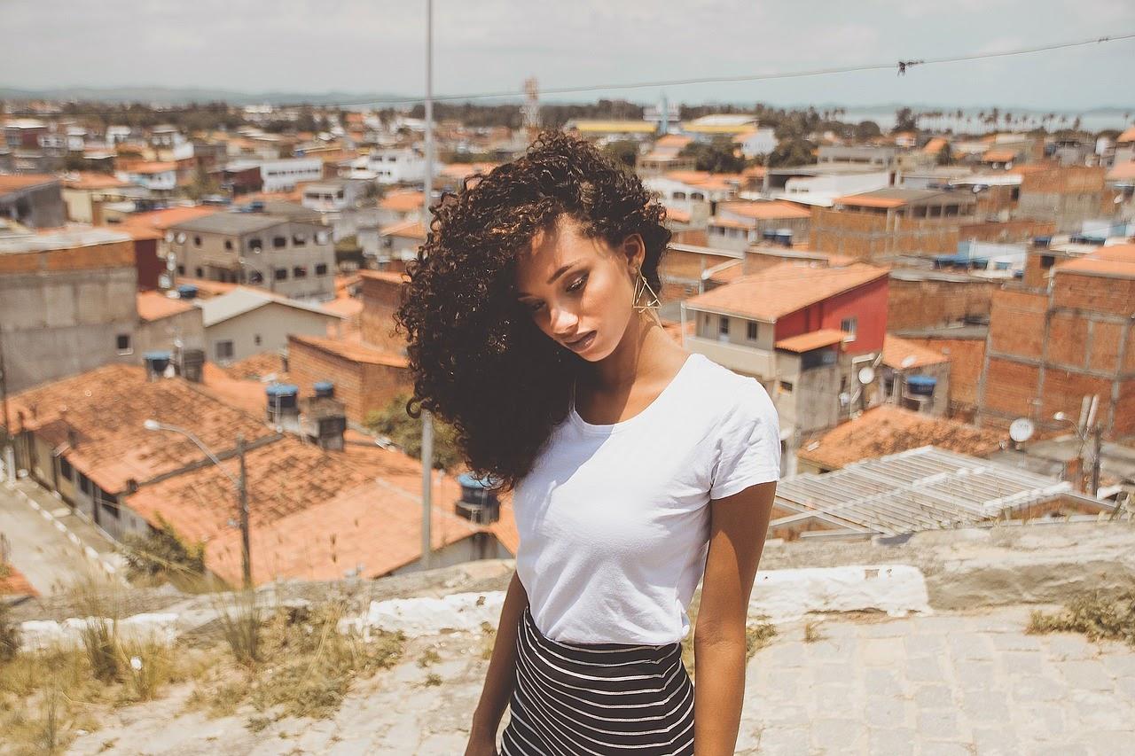 young Brazilian girl