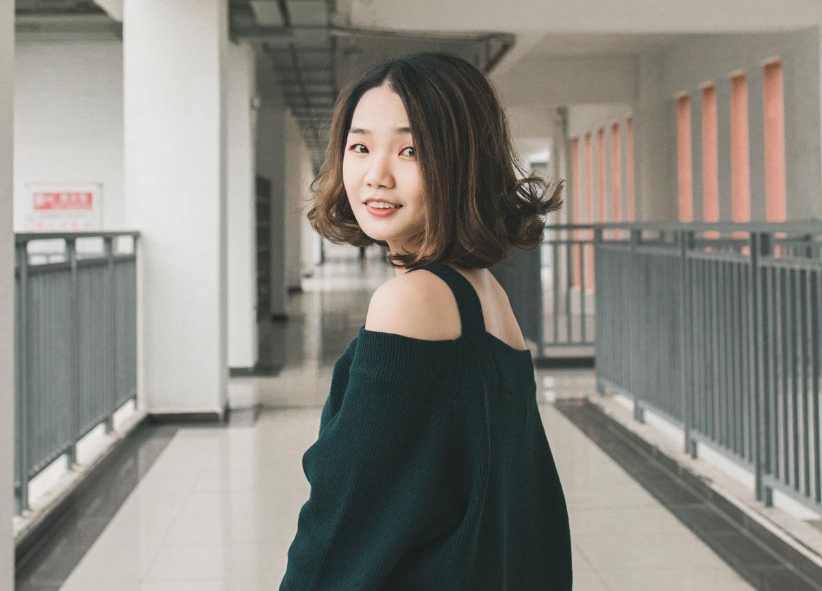 sensual Chinese woman